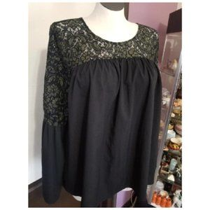 Lane Bryant Lace Babydoll Bell Sleeves 18/20